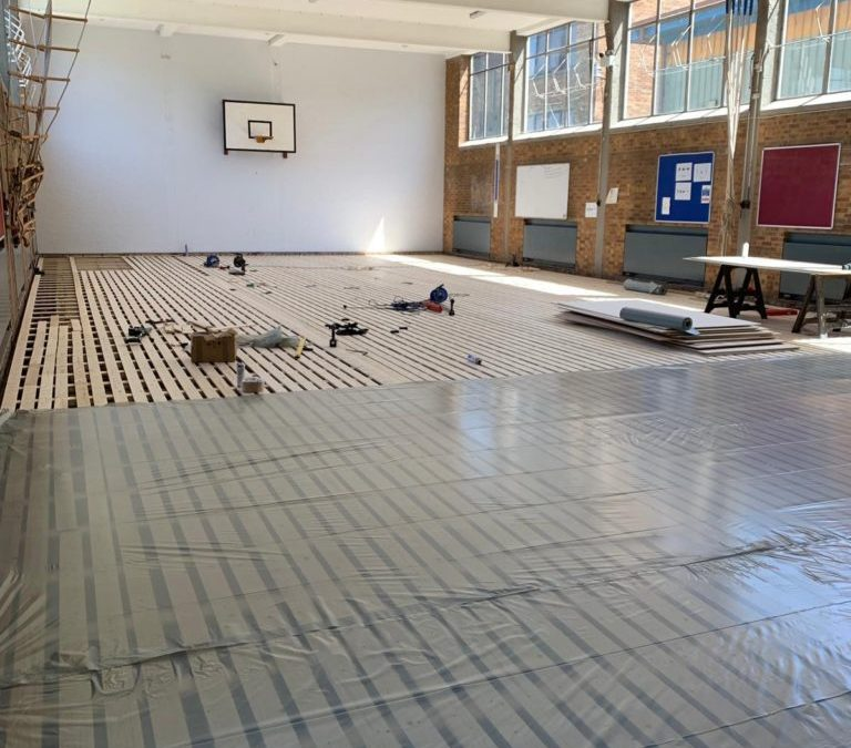 Sport Floor and Sport Facility Refurbishment Completed